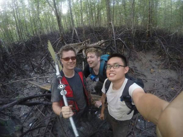 The Mangrove Lab have been measuring RSETs in Thailand to monitor mangrove vulnerability to SLR